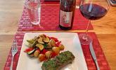 Lamm mit Kräuterkruste und Balsamico - Rotweinsauce