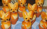 Osterhäschen im Tontopf