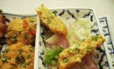 Thailändische Fischplätzchen mit Gurken-Ingwer-Relish