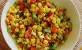 Bunter Mais - Paprika - Salat