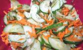 Gurken - Karotten - Salat