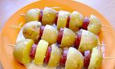 Spanische Kartoffelspieße