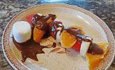 Obstspieße mit Schoko - Marshmallow - Sauce