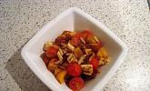 Tomatensalat mit Pinienkernen