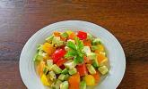 Tomaten - Avocado - Salat
