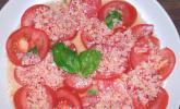 Tomatensalat mit leckerem Radieschendressing