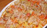 Eichkatzerls herbstlicher Kartoffel-Kürbis-Auflauf