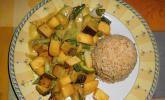 Tofu - Mango - Curry