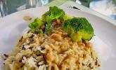 Brokkoli - Tofu - Pfanne mit Erdnusssoße