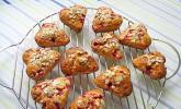 Haferflocken - Johannisbeer - Muffins