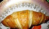 Einfache schnelle Marzipan - Croissants