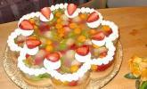 Biskuit mit Keksboden für Obstkuchen