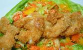 Kokosnuss-Shrimps
