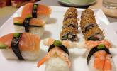 California Rolls inside - out