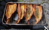 Heißräuchern von Fisch
