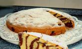 Zebrakuchen mit Kirschen - laktosefrei