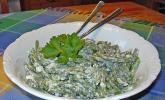 Grüner-Sahne-Bohnen-Salat