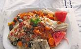 Ceebu Jen - Reis mit Fisch aus Senegal