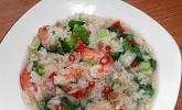 Tschohk - thailändische dicke Reissuppe mit Huhn