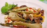 Ofengemüse mit Fenchel und Champignons