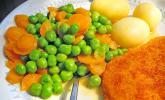 Erbsen-Möhren-Buttergemüse