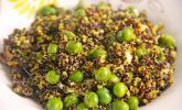 Quinoa mit Erbsen