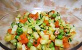 Smokeys Sellerie-Erbsen-Salat