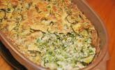 Zucchini-Erbsen-Auflauf