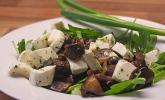 Champignon - Rucola - Salat
