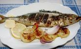 Gegrillte Knoblauch-Makrele