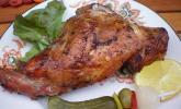 Kaninchenkeule vom Grill