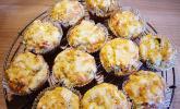 Kräuter-Knoblauch-Zucchini-Muffins