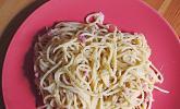 Sayas leichte Spaghetti Carbonara