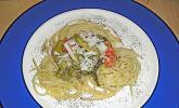 Spargel-Zitronen-Pasta