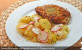 Leichter Kartoffel - Spargelsalat mit Radieschen
