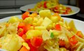 Ananas-Scampi-Curry-Nudelsalat