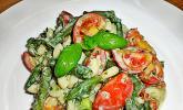Toskanischer Bohnen-Nudelsalat