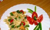Nudel-Kartoffel-Salat schwäbisch-italienisch