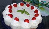 Erdbeer - Basilikum - Torte