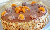 Nougat-Orangencreme-Torte