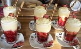 Einfaches Trifle im Glas