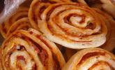 Mini - Pizzaschnecken