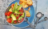 Avocado - Tomaten Salat