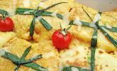 Crespelle mit Tomate und Mozzarella