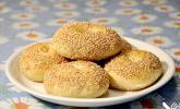 Sesamringe auf türkische Art und Weise
