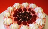 Himbeer - Frischkäse - Torte