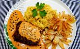 Steak in Pfeffersauce