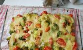 Veganer Gemüse - Tofu - Auflauf