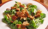 Feldsalat mit Meerrettich - Dressing