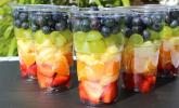 Fruit Salad to go mit Zitrus-Dressing